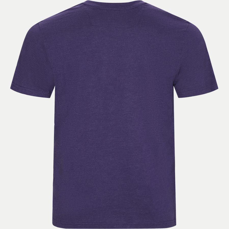 WALTHER LOGO - Walter Tee - T-shirts - Regular - LILLA MELANGE - 2